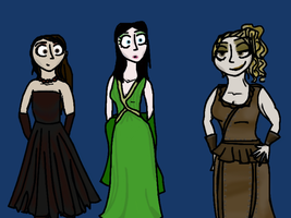 Tanith at the Requiem Ball by FervidColt