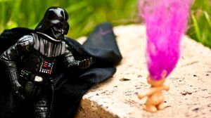 'The Force is strong with your hair' - Darth Vader by ThanhDDanh