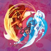 ATLA: Fire and Water by ahnline