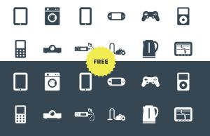 12 Free Icons by ottoson