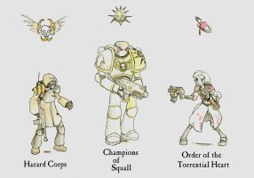 WH40k: The Emperor's Finest by wightpower