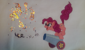 Pinkie Pie Party Cannon! by thegreatloofa
