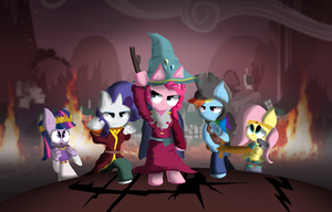 MLP FIM : The Stick Of Truth by OscarNDRAW