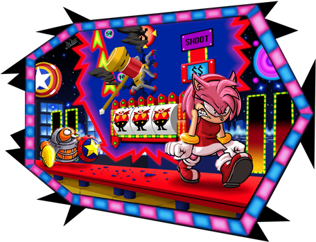 Amy in Casino Night by The-Quill-Warrior
