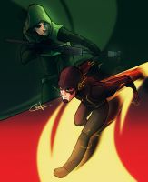 Flash Arrow by Ctreuse109