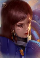 Overwatch: Pharah by Raphire