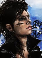 Andy Biersack, follow the morning star by Farbenfrei