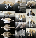 Romanian Three-Tail Male - 3-D Printed Sculpture by LeccathuFurvicael