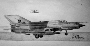 MiG-21 by Ralph1989