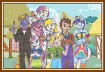 Whooves Family Picture by Iven-Furrpaw