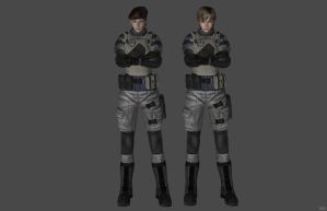 'Resident Evil 4' BSAA Rebecca 2.0 XPS ONLY!!! by lezisell