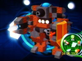 KH2 Gummi Ship -- Juggernaut by Chalryn