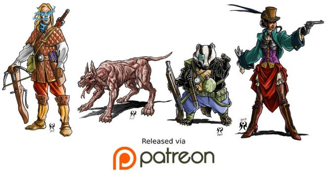 January 2017 Patreon release by artikid