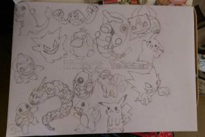 Tyler's Pokemon WIP by snoopysoap