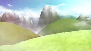 Background Practice: Mountains by 3o2