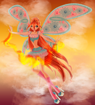 Power of The Dragon Flame by ColorfullWinx
