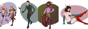 [commission] Iron Artist round 2 - 22,23,24,25 by SirMeo