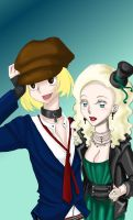 Pip and Estella with Color by Kisses4Katie
