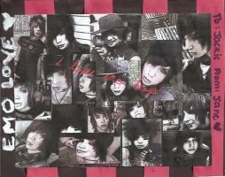 Andy Sixx Collage by paradoxkolst