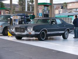 1972 Ford Gran Torino by FlyinRacedude