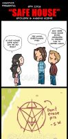 SPN 11X16 SAFE HOUSE SPOILERS AND MISSING SCENE by KamiDiox