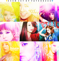 Icon Set SNSD I GOT a BOY by nufazzii
