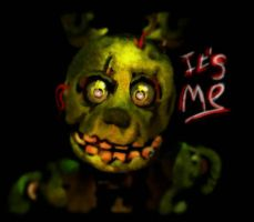 Springtrap by SuperBluePanda