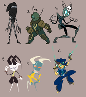 Oh yeah...adoptables (CLOSED) by CuddlesAndHuggles