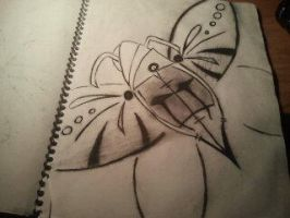 doodle butterflyNUMBER2 by xAccidentalArtistx