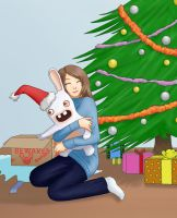 Christmas - Raving Rabbits by Aitia