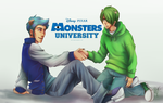 [Monsters University] First encounter by naccholen