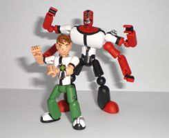 Ben 10 with Four-Arms 1 by JWBeyond