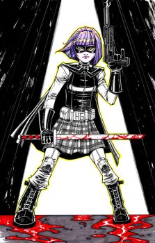 Hit-Girl by olivernome