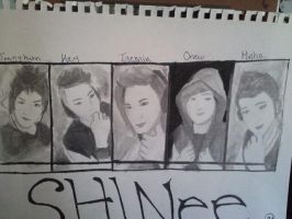 SHINee Art Project by animelover287