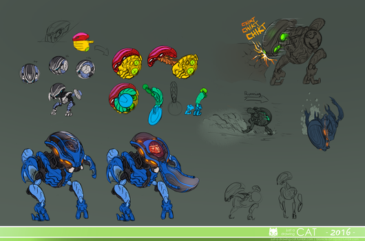 Bohrok Design dump (swarm part 2) by Just-a-drawing-Cat