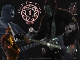 R.I.P. Paul Gray by P-u-D