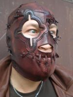 Mask 'Steampunk Lucha Libre'-2 by Leder-Joe