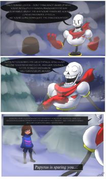 Undertale - Thats not nice - pg 1 by KattSpace