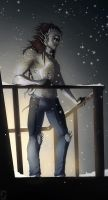 The first snow :C: by malikaa