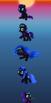 The Transformation of Nyx by C-Puff