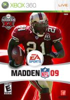 Madden 09 - Frank Gore by grizzlee503