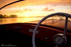 Driving on the Golden Lake by LordHenkutt