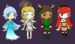 Christmas Adopts OPEN by SainteCiel