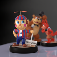 Balloon Boy Amiibo! by SmashingRenders