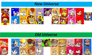 Old and New Universe by EricTheWhitelion