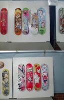 skateboards at the monkey show by kirkfinger