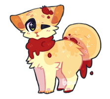 .stawberry jam donut [CLOSED] auction! by boucu