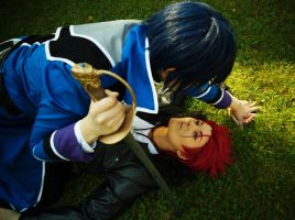 K-project - Red and Blue by ArcticYakuza