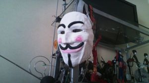 My own V mask by TheWallProducciones