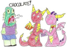 Why Dragons dont eat chocolate by 12051993